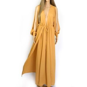 New. Nasty Gal Maxi Dress